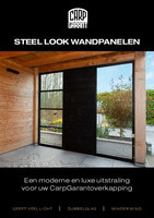Steel look wandpanelen